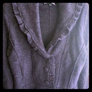 Harve Benard 100% wool dress coat size Large